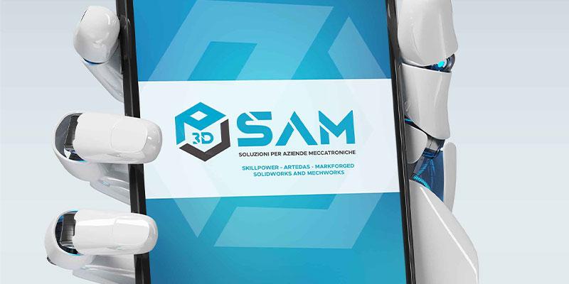Creazione-logo-Sam-soluzioni-per-aziende-meccatronice