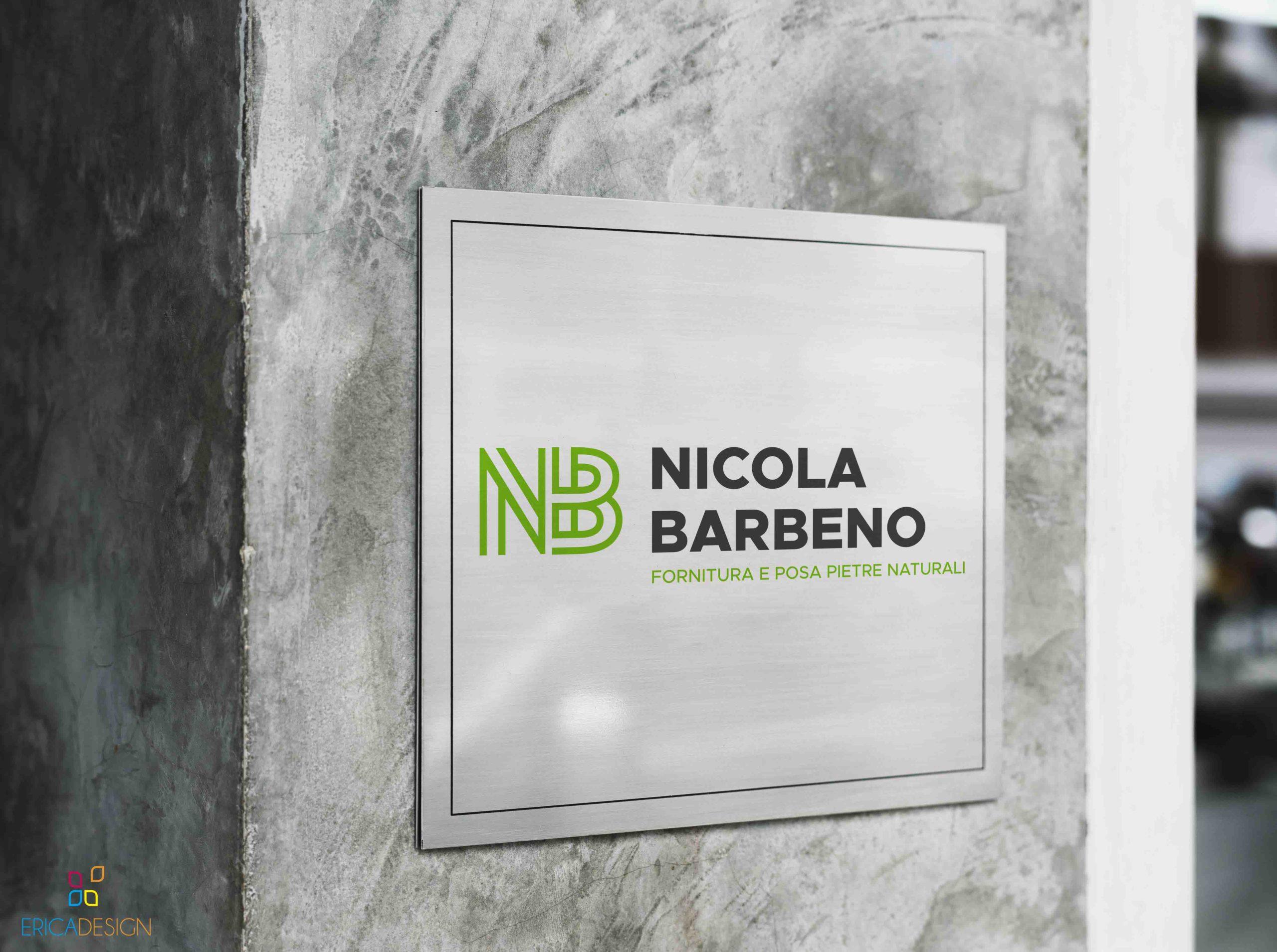 Targa creata per Nicola Barbeno a Brescia
