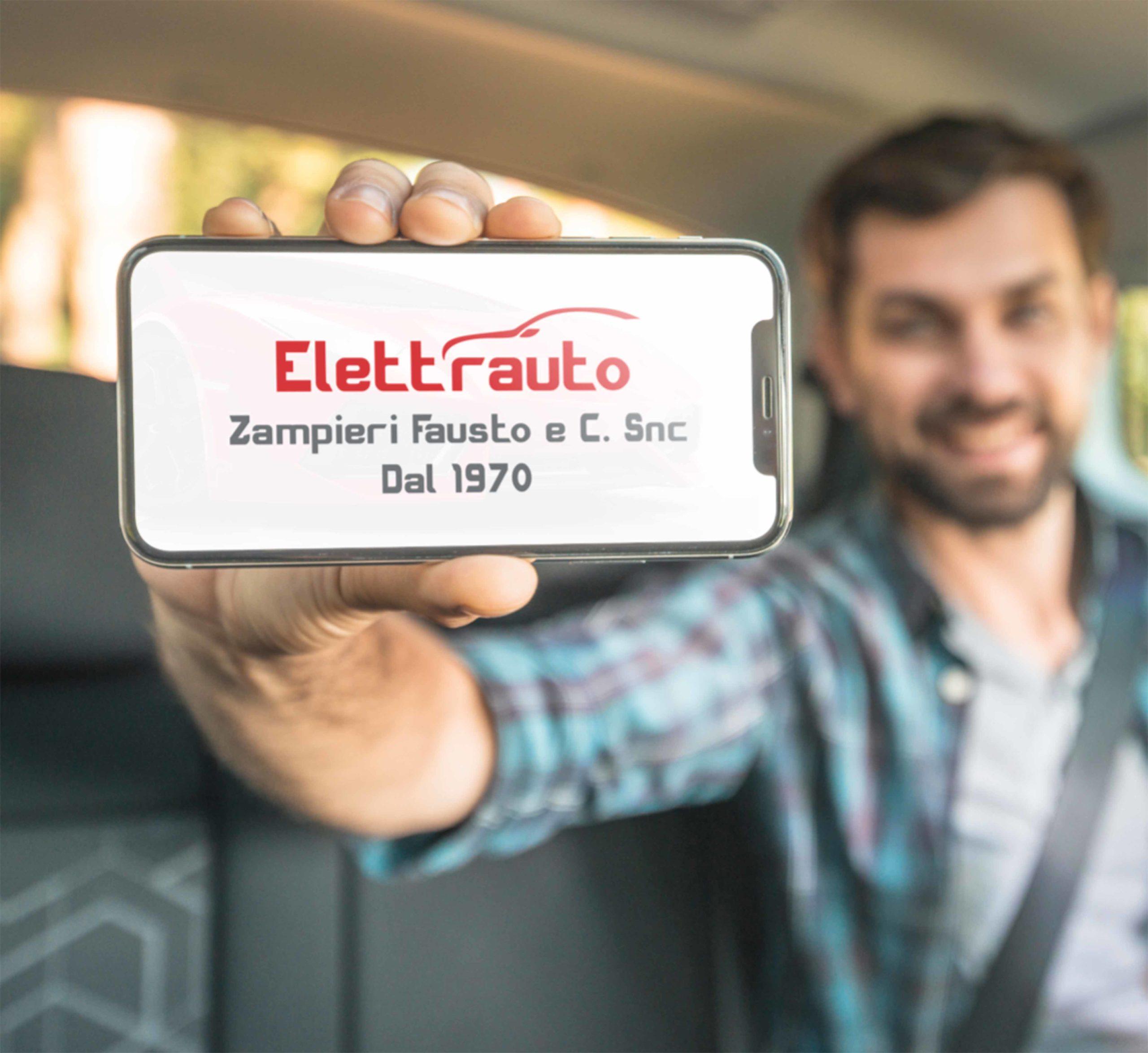 Logo elettrauto creato in collaborazione con Sin Italia Net Brescia