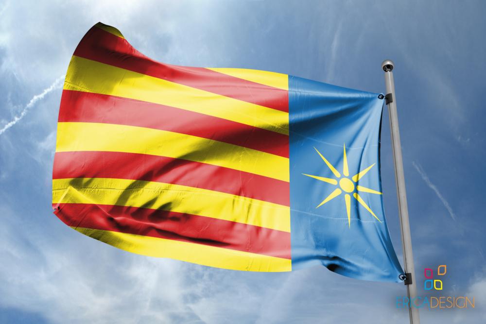 Bandiera del salento in collaborazione con bandiere.it
