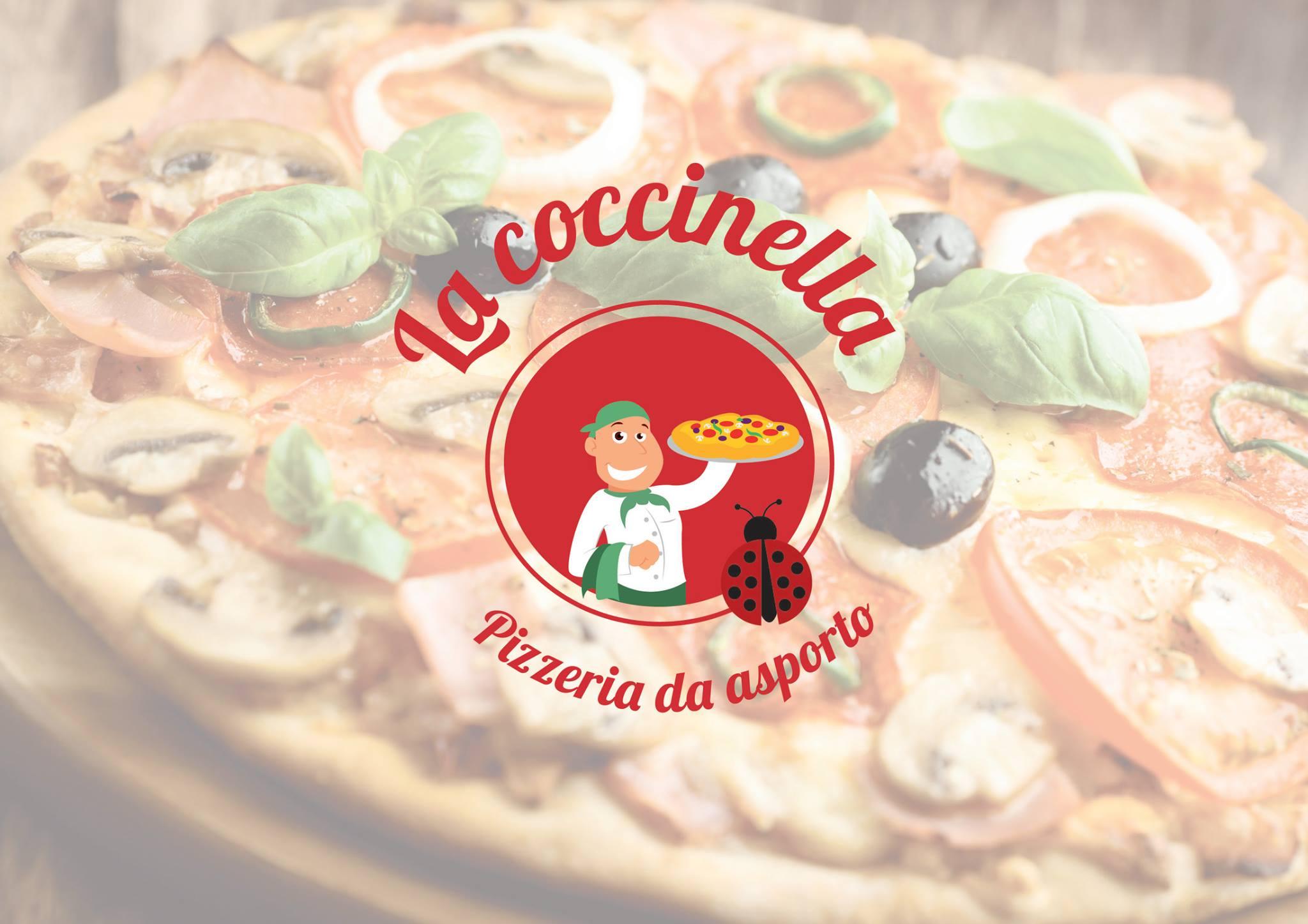 Logo creato per La coccinella pizzeria Brescia - Grafica