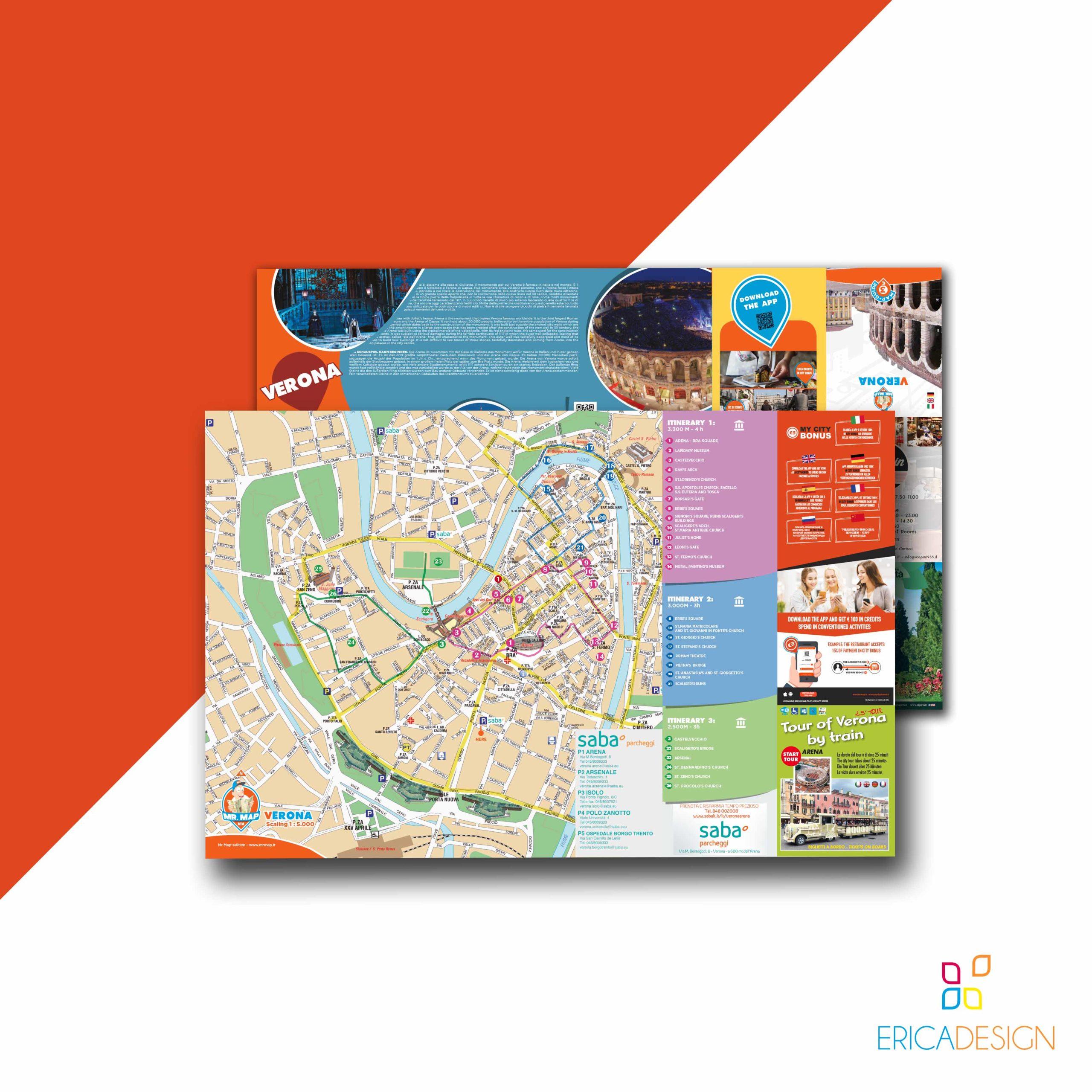 Cartina grafica creata in collaborazione con Mr Map