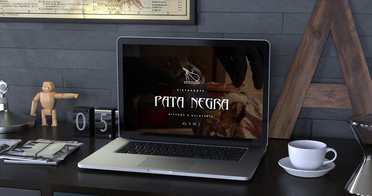 Sito web creato per Pata Negra Paratico Brescia