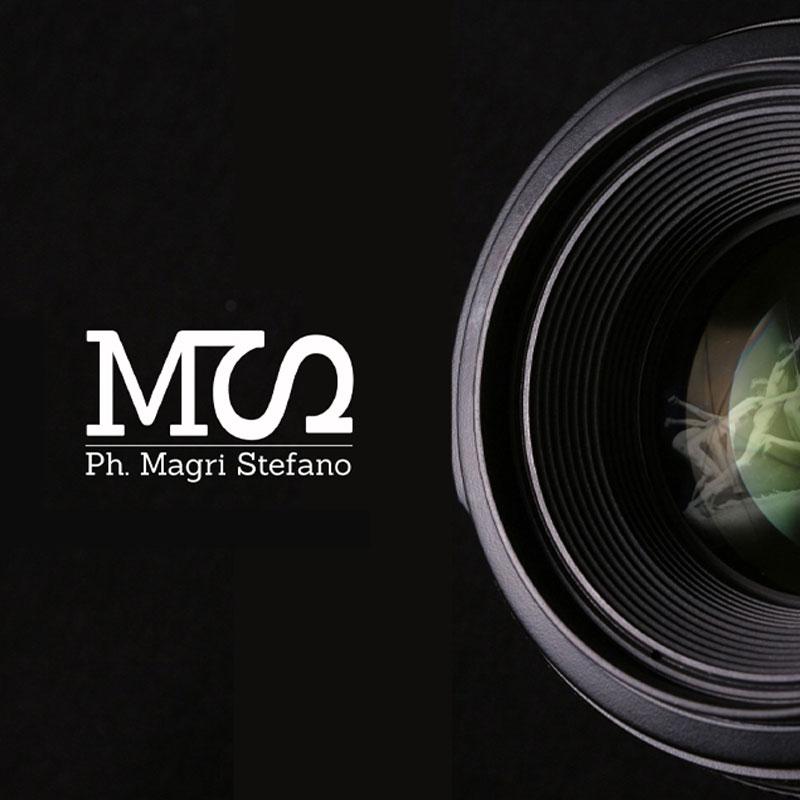 Logo creato per il fotografo Magri Stefano - grafica
