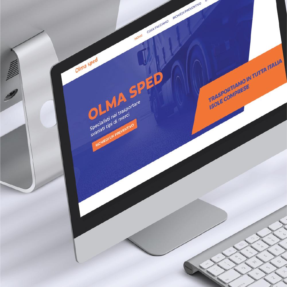 Sito web Olma sped